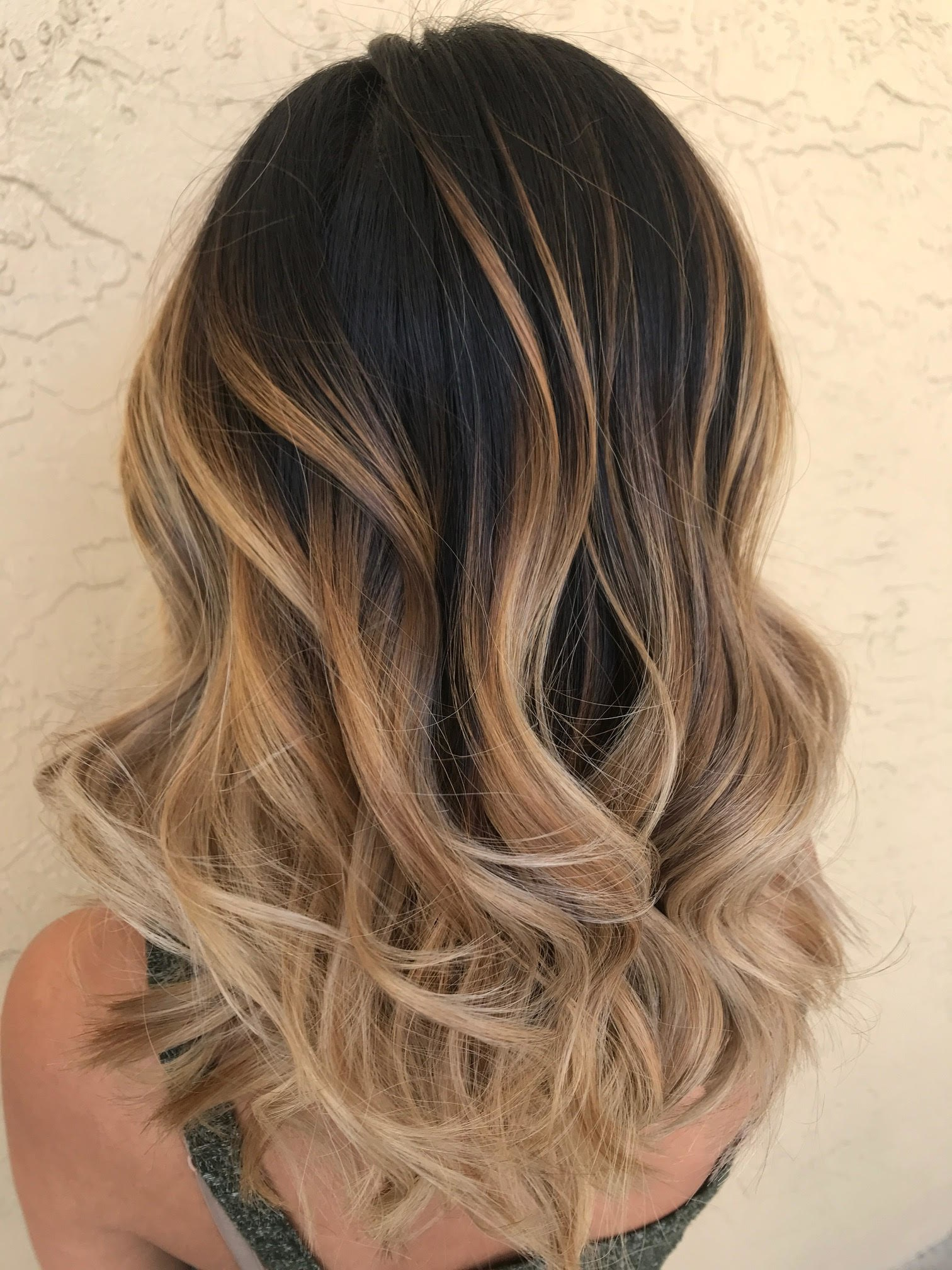 Toasty Melt Hair Color Is The New Blonde Balayage For